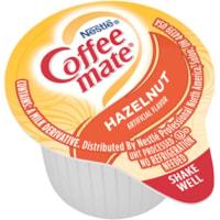 Nestlé Coffee-Mate Liquid Single-Serve Coffee Whitener, Hazelnut, 11 mL, 180/CT