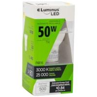 Luminus LED Lightbulb, PAR16, 7W, Dimmable, Bright White, 6/PK