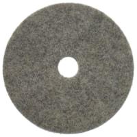 Tampons de polissage pour sols en cheveux naturels Buckaroo Americo, charbon, 20 po, caisse de 5
