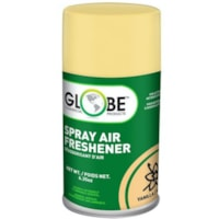 Globe Commercial Products Air-Pro Metered Spray Air Freshener Refill Aerosol Spray, Vanilla, 180 g, 12/CT