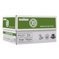 Boise X-9 Multi-Use Copy Paper, 20 lb., White, Letter-size (8 1/2
