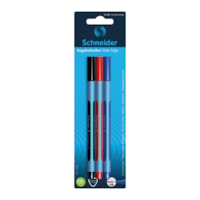 Schneider Slider Edge Ballpoint Pens, Assorted Colours, Extra Broad, 3/PK