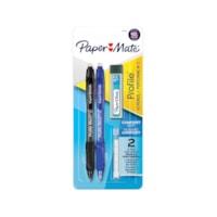 Paper Mate Profile Mech, mine de crayon HB n ° 2 de 0,7 mm, couleurs de corps assorties, emb. de 2