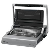 Fellowes Galaxy 500 Manual Comb Binding Machine with Starter Kit