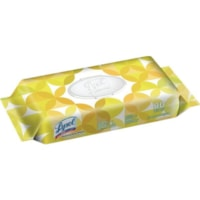 Lysol Disinfecting Wipes, Flat Pack, Lemon and Lime Blossom Scent, Pack of 80