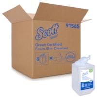 Scott Essential Green Certified Foam Skin Cleanser, 1 L, Carton of 6