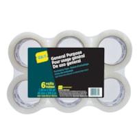 Seal-It Ruban d'emballage, transparent, 48 mm x 100 m, emb. de 6