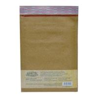 Enveloppes matelassées autocollantes en papier kraft Earth Hugger, nº 0, 6 po x 9 po, carton de 25