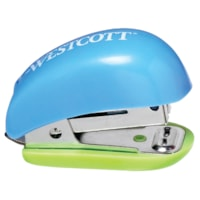 Westcott Antimicrobial Protected Mini Stapler with Built-In Staple Remover