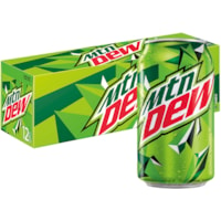 Mountain Dew Soft Drinks, 355 mL Can, Carton of 12