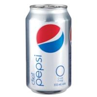 Boisson gazeuse Diet Pepsi, canettes de 355 mL, carton de 24