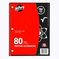 Carnet de science et d'arithmétique de Hilroy