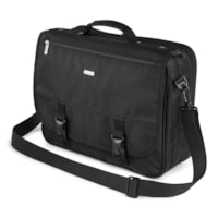 Bugatti Business Briefcase, Black, Fits Laptops up to 15.6