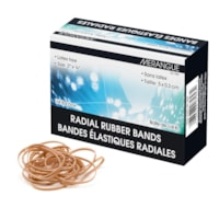 Merangue Size #107 Rubber Bands, 1/4 lb box