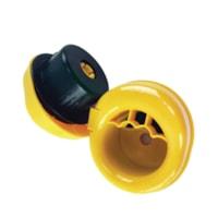 Edge Hand Savers Stretch Wrap Film Hand Dispenser, Yellow/Black, Set of 2