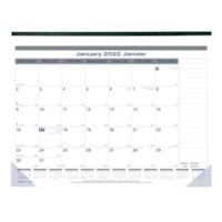Blueline Net Zero Carbon 12-Month Monthly Desk Pad Calendar, 22
