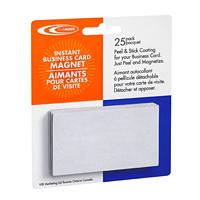 FileMode Peel 'n' Stick Instant Business Card Magnets
