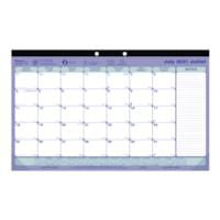 Blueline Academic Desk Pad Calendar, 17 3/4