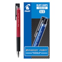 Pilot Synergy Point Rollerball Pen, Red, Extra Fine 0.5 mm, Box of 12
