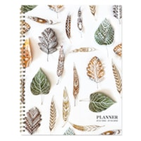 TF Publishing Academic Large Weekly/Monthly Planner, Stems & Leaves, 9