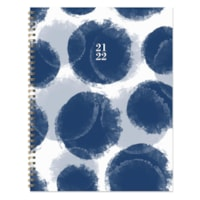 TF Publishing Academic Large Weekly/Monthly Planner, Paint Spots, 9