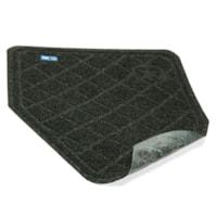 M+A Matting CleanShield Tapis pour urinoirs, charbon de bois, 17 po x 17 po, boîte de 6