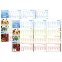 DAY-TIMER® Reversible Flex Planners ¿ Dated, Seasonal, 24