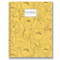TF Publishing Weekly/Monthly Planner, Golden Flowers, 9
