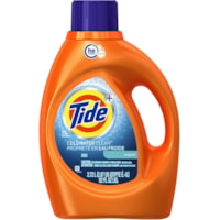 Détergent à lessive liquide Tide haute efficacité (HE) Turbo Clean Coldwater Clean, parfum original, 2,72 L