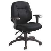 Grand & Toy 100 Series Low-Back Multi-Tilter Chair