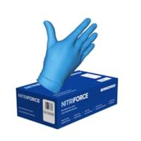 Forcefield NITRIFORCE gants de qualité médicale en nitrile, sans poudre, TG., bleu, boîte de 100