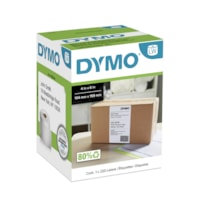 DYMO LabelWriter Thermal 4XL Shipping Labels, White, 4