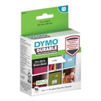 DYMO LabelWriter Durable Coated Polypropylene Multipurpose Labels, White, 1