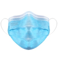 Masques plissés 3 plis PRO-TEC, ASTM niveau 2 VEND, boîte de 100