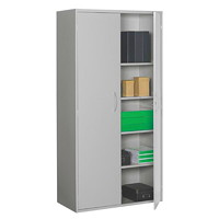 Grand & Toy 4-Shelf Steel Storage Cabinet