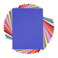 Papier de bricolage à haut grammage SunWorks Pacon, écarlate, 18po x 24po, emb. de 50