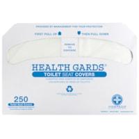 HOSPECO Health Gards® Toilet Seat Covers, White, Case of 2,500
