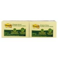 Feuillets Post-it®, jaune canari, 3po x 5po, emb. de 12