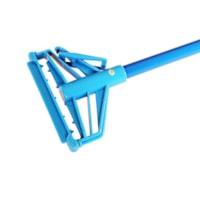 Poignée de vadrouille en métal Globe Commercial Products, bleu, 54 po