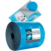 Scotch® Flex and Seal Shipping Roll, Blue, 15