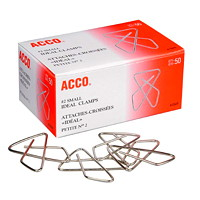 Acco Butterfly-Shaped Ideal Clamps