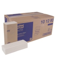 Tork 2-Ply Advanced Soft Xpress 3-Panel Multifold Hand Paper Towels, White, Pack of 189 Sheets, Carton of 16 Packs