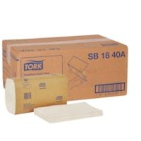 Essuie-mains à pli unique Universal Tork, blanc, emb de 250 feuilles, carton de 16