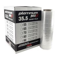 Malpack Platinum Max film étirabable, transparent, 17,7 po x1 476 pi, 80 épaisseur, carton de 4