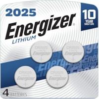 Piles boutons 2025 Energizer, emb. de 4