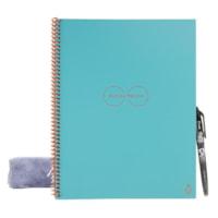 Rocketbook Core Smart Notebook, Dot-Grid Ruled, Neptune Teal, 16 Sheets, 8-1/2
