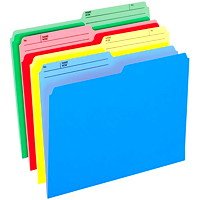 Pendaflex Cutless and WaterShed Coloured File Folders