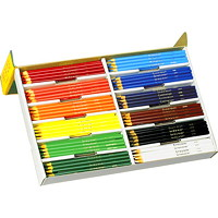Crayola Coloured Pencils Class Pack, Assorted Colours, 240/BX