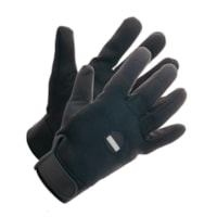 LINED BLACK PERFORM. GLOVE, XL