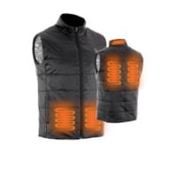 Forcefield Black Heated Vest, Medium